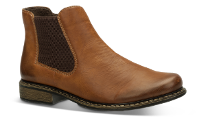 Rieker kort damestøvlett brun Z4994-24