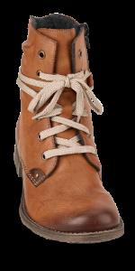 Rieker kort damestøvle brun 70820-24