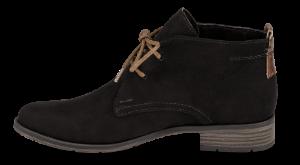 Marco Tozzi kort damestøvlett sort 2-2-25101-33