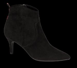Marco Tozzi kort damestøvlett sort 2-2-25338-23