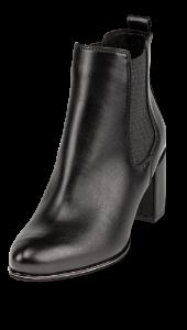 Marco Tozzi kort damestøvlett sort 2-2-25346-23