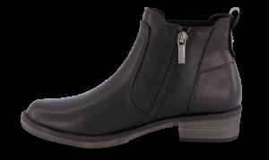 Tamaris kort damestøvlett sort 1-1-25012-23