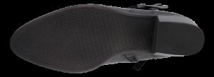Tamaris kort damestøvlett sort 1-1-25063-23