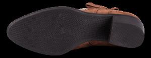 Tamaris kort damestøvlett brun 1-1-25063-23