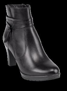 Tamaris kort damestøvlett sort 1-1-25094-23