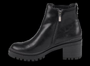 Tamaris kort damestøvlett sort 1-1-25428-23