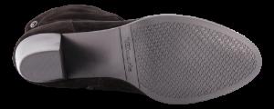Tamaris kort damestøvlett sort 1-1-25740-23