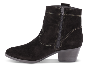 Tamaris kort damestøvlett sort 1-1-25742-23