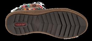 Rieker kort damestøvlett blå Z6684-14