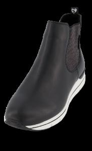 Marco Tozzi kort damestøvlett sort 2-2-25871-25