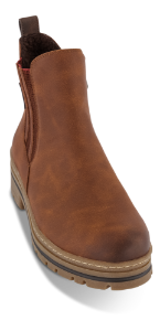 Marco Tozzi kort damestøvlett brun 2-2-26875-25