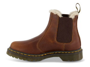 Dr. Martens kort damestøvlett brun 23898243