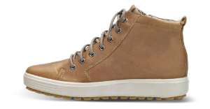 ECCO kort damestøvlett brun 450163 SOFT 7 LU