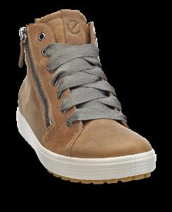 ECCO kort damestøvle brun 450163 SOFT 7 LU