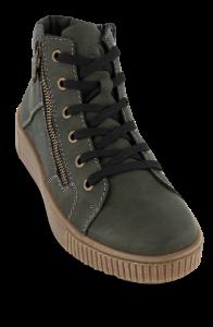 Rieker kort damestøvlett oliven M6434-54