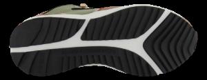 Woden Wonder kort damestøvlett multi WL9007