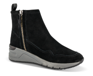Tamaris kort damestøvle sort 1-1-25428-23