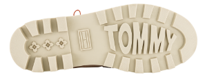 Tommy Hilfiger Korte damestøvletter Beige EN0EN00933