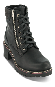 B&CO sort støvlett med hæl 5261501410