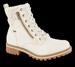 B&CO hvit vinterstøvlett 5261502490
