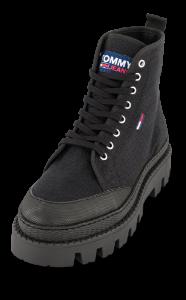 Tommy Jeans Korte damestøvletter Sort EN0EN01440BDS