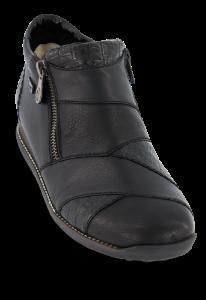 Rieker kort damestøvlett sort 44271-00