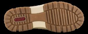 Rieker Korte damestøvletter Beige X8674-64