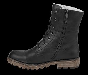 Rieker kort damestøvlett sort Y6723-00