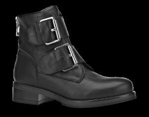 B&CO kort støvlett sort