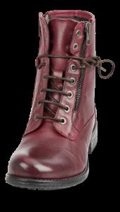 B&CO kort damestøvle bordeaux