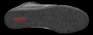 Rieker kort damestøvlett sort 94060-00