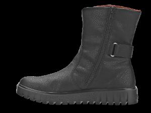 Rieker kort damestøvlett sort Y3478-00