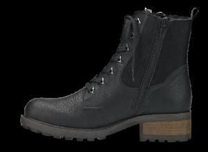 Rieker kort damestøvlett sort Y0431-00