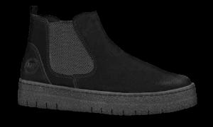 Marco Tozzi kort damestøvlett sort 2-2-26439-21