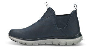 Skechers kort damestøvlett blå 88888212