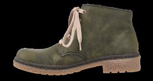 Rieker kort damestøvlett grønn 53241-54