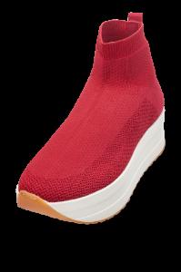 Vagabond kort damestøvlett rød 4722-080