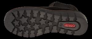Rieker kort damestøvlett sort 99182-00