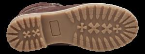 Tamaris kort damestøvlett burgunder 1-1-26244-23