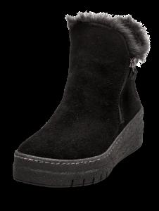 Tamaris kort damestøvlett sort 1-1-26444-23