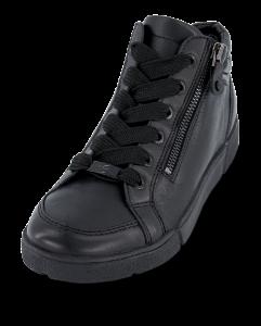 Ara kort damestøvle sort 12-14435