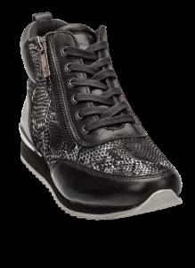 Caprice kort damestøvlett sort 9-9-25215-23