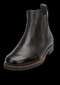 Caprice kort damestøvlett sort 9-9-25413-23