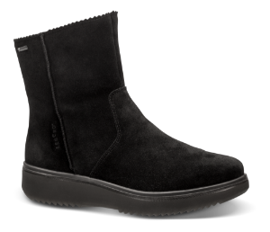Legero kort damestøvle sort 509623