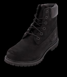 Timberland kort damestøvlett sort TB08658A001