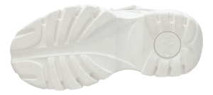 Buffalo damestøvle hvid 1348-14
