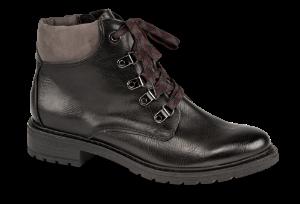 Marco Tozzi kort damestøvlett sort 2-2-25207-23