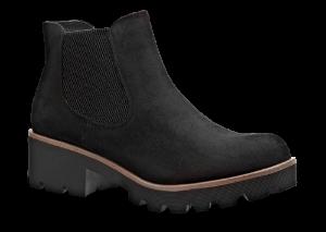 Rieker kort damestøvlett sort 99284-00