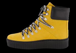 Shoe The Bear Agda kort damestøvlett gul