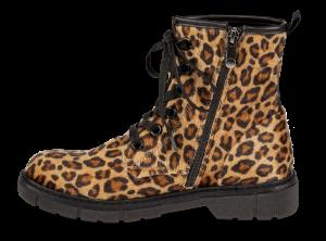 Marco Tozzi kort damestøvlett leopard 2-2-25290-23